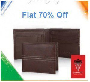 Amazon Dandy Wallets & Pocket Accessories 70% off from Rs. 89