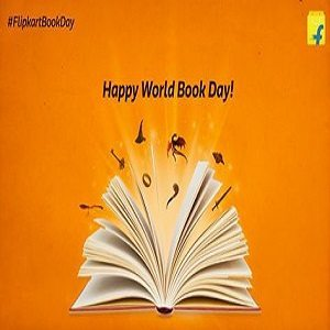 Flipkart Happy World Book Day Offers and Contests