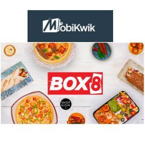 Mumbai Box8 Online Food Order Rs. 150 off on Rs. 300 + Rs. 150 cashback