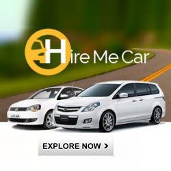 HireMeCar upto Rs. 150 off Coupon Codes