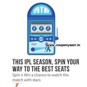 Freecharge Spin n Win IPL Tickets & upto Rs. 50 Cashback