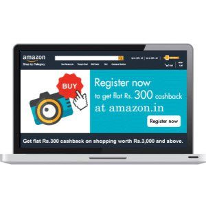 Amazon American Express Cards Rs 300 statement credit on Rs 3000