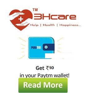 3Hcare Loot Free Paytm Cash Rs. 10 on Sign up