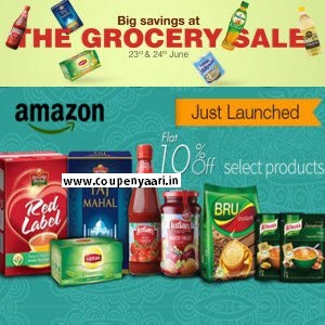 Amazon The Grocery & Gourmet Sale Big Saving 23rd & 24th June