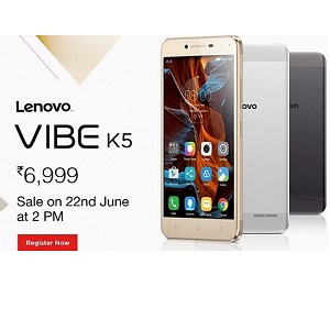 [22 June] Lenovo Vibe K5 Script Amazon Flash Sale