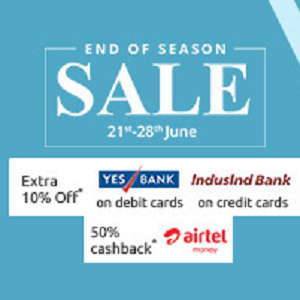 Shopclues End of season sale EOSS 21st - 28th June