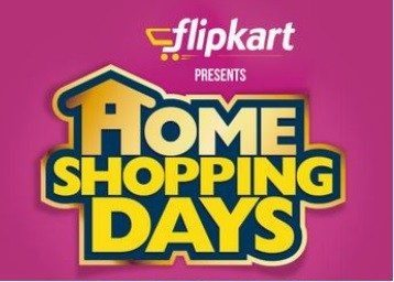 Flipkart Home Shopping Days Sale 15th -17th July 2016