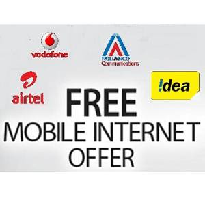 All Networks 3G/4G Free Internet Data July 2016