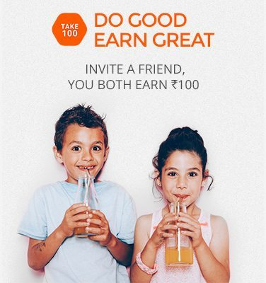 Zoomin Refer and Earn Rs 100 Invite a Friends Do Good Earn Great