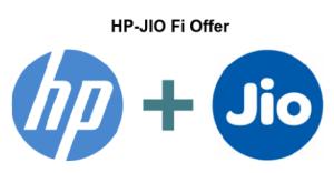 Get Free Jio Sim Offer HP JIO Fi Unlimited 4G in Hp Laptop Users