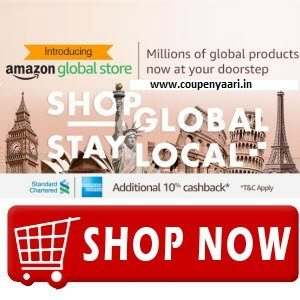 Amazon Global Store Shop Global Stay Local 60% OFF + 10% Cashback
