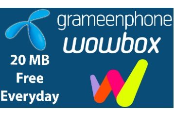 Download WowBox and Enjoy Daily 20 MB Free Internet Data in Telenor/Uninor