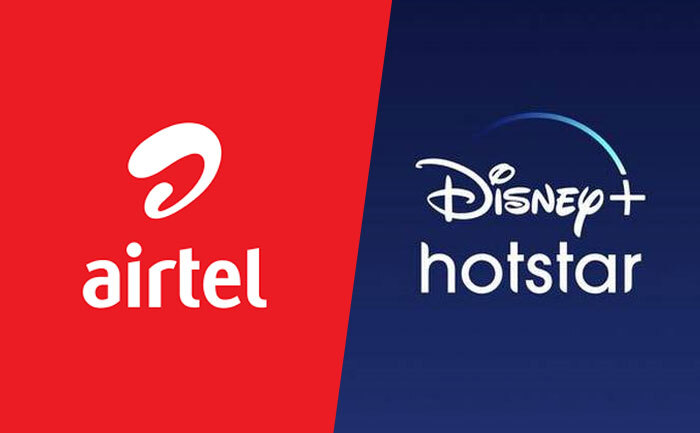 Airtel Disney+ Hotstar VIP Subscription Get Free worth Rs 401